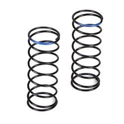 22T -Ressorts d'amortisseurs avant, durete 3.8, bleus TLR5183