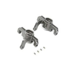 Aluminum Front Spindle Set for Univerals: 8/E 4.0 TLR344006
