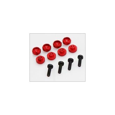 Rondelles de fixation de servo (8)