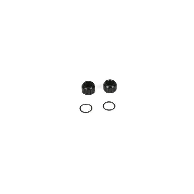 22 - set de bouchons inferieurs d'amortisseurs (2) TLR5086