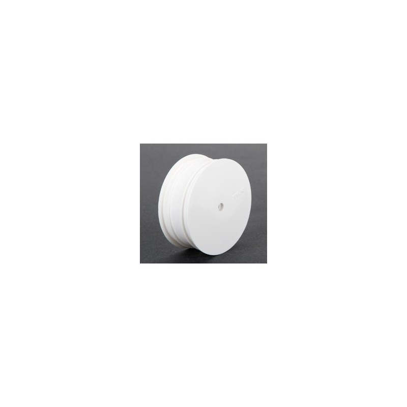 22 3.0 - Jantes avant, Hexagone 12mm, Blanches (2) TLR43009