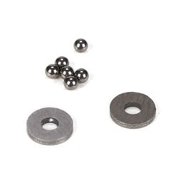 Tungsten Carbide Diff Balls, 2mm (6) TLR2947