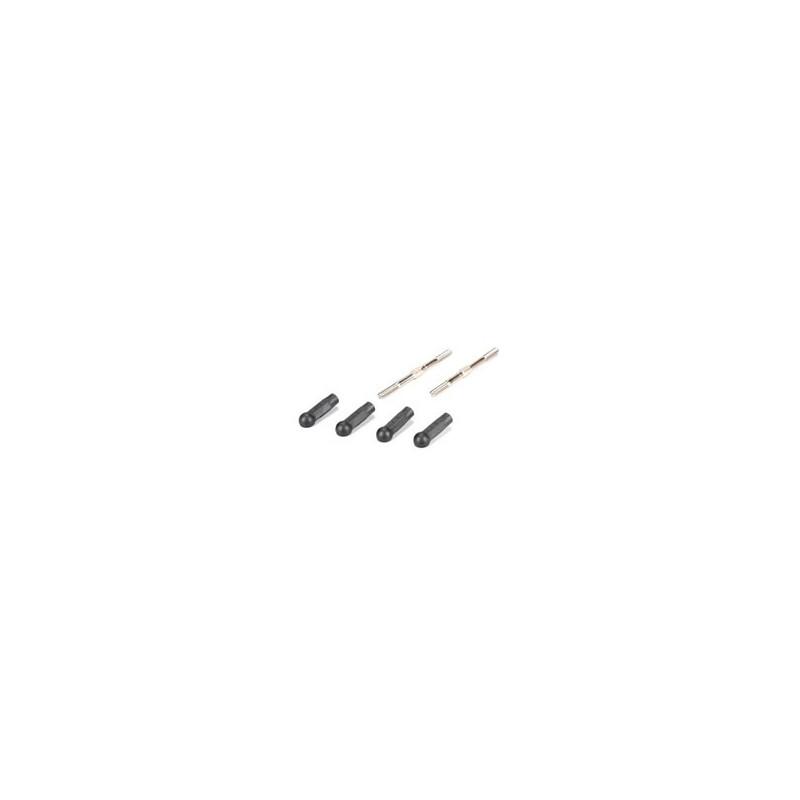 TLR234060 Turnbuckle, HD, 55mm (2): 22/22-4 TLR234060  RSRC