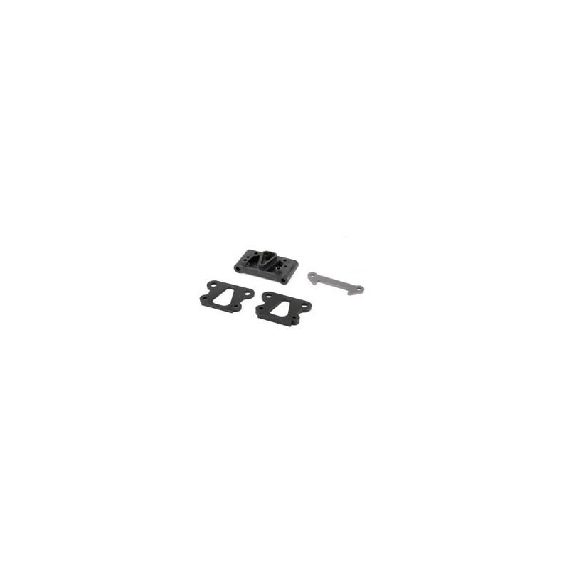 22 - Pivot avant avec cales et renforts TLR234051