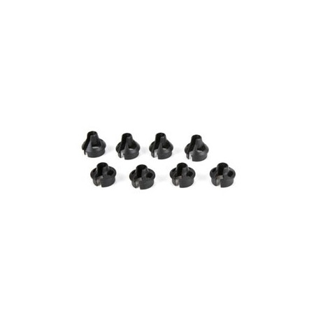 22 - Coupelle de ressorts, standard et +4mm (4 pieces) TLR233021