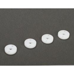 22/T/SCT/E - Pistons d'amortisseurs usines CNC diametre 12mm, 1,6x2 trous (4) TLR233009