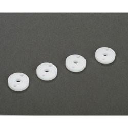 22/T/SCT/E - Pistons d'amortisseurs usines CNC diametre 12mm, 1,5x2 trous (4) TLR233008