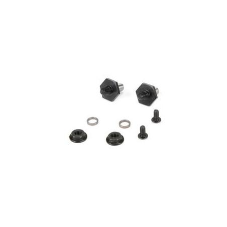 22 3.0 - Axe de roues avant, Hexagone 12mm TLR232039