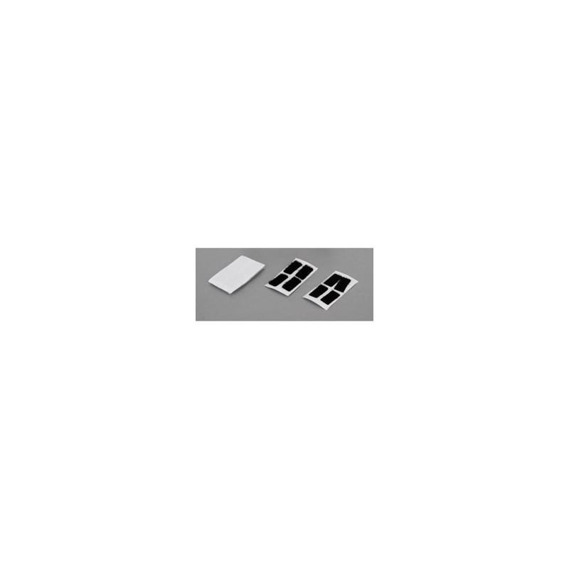 Bandes auto-agrippantes pour fixation de carrosserie, 10x20mm (8) TLR230003