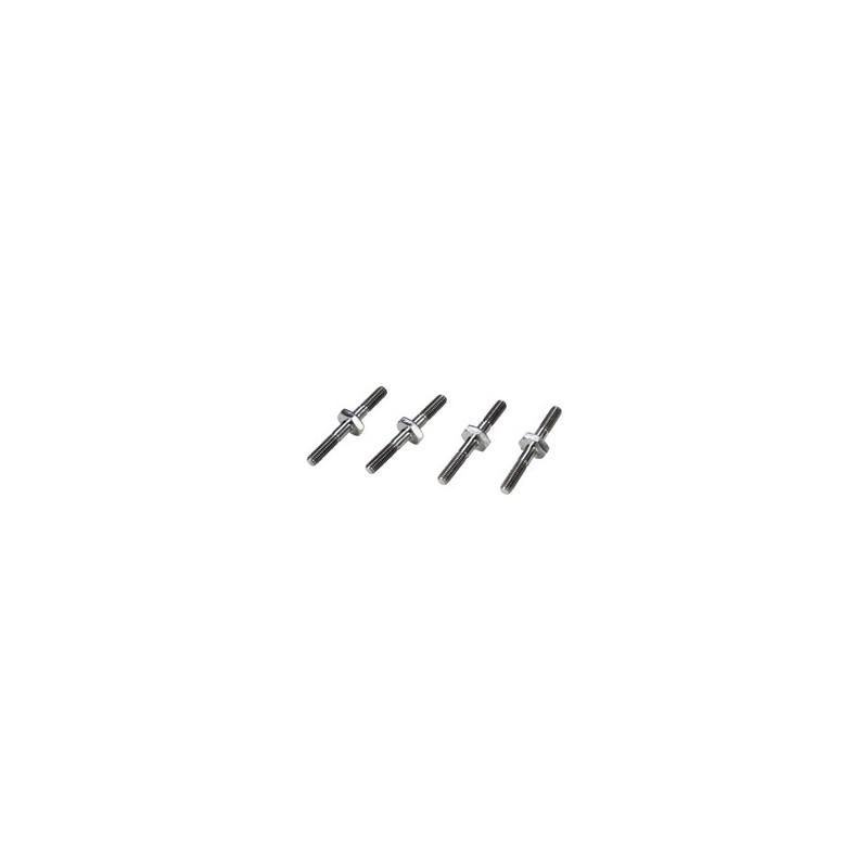 22 -Fixations d'amortisseurs en titane TLR4166