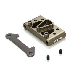 22 -Support de pivots avant aluminium TLR1072