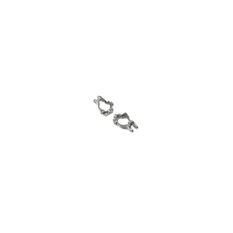 TLR344005 Fr Spindle Carrier Set, Aluminum, 15 Deg: 8/8T 4.0