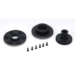 Starter Wheel Pulley Set: 8B/8T 2.0 LOSA99423