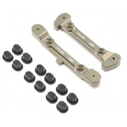 Offset Adjustable Rear Pivot Brace with Inserts: 8 4.0 Tuning Kit (TLR344007) TLR344007  RSRC