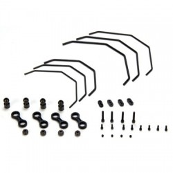 Sway Bar Set: 8B,8T: Losi (LOSA1750)