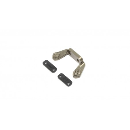 Rear Camber Block, w/Inserts: 22 4.0 TLR234086