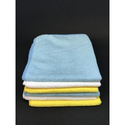 Batch of 6 Microfiber Cleaning Cloth