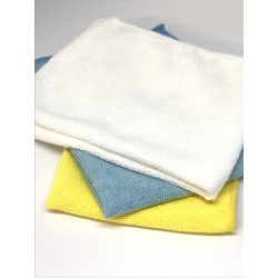 Batch of 3 Microfiber Cleaning Cloth