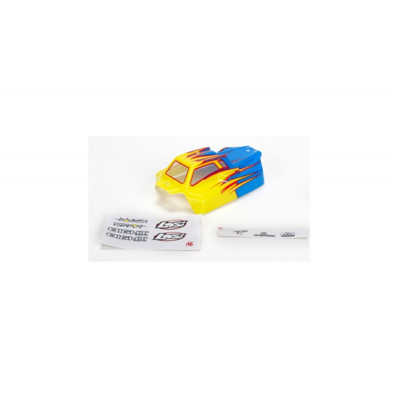 Mini 8 AVC - Carrosserie peinte bleue LOS210002