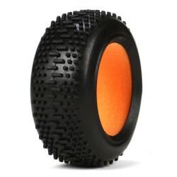 LOSB1955 Mini 8IGHT -Paire de pneus avant avec inserts en mousse LOSB1955 Losi RSRC