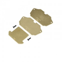 Forward Brass Plate Set: 22 4.0 TLR331028
