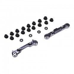 Rear Suspension Mount Set, Aluminum: Mini 8IGHT LOSB1899