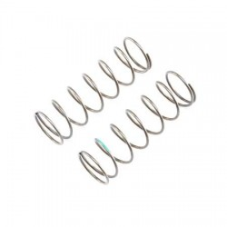 16mm FR Shk Spring, 4.8 Rate, Green(2): 8B 3.0 TLR243016