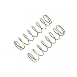 Ressorts d'amortisseurs 16mm EVO JAUNE Arrière, Rate 4.2 (2) TLR344025