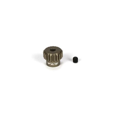 Pignon en aluminium 19 dents, 48P TLR332019