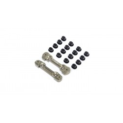 Adjustable Front Hinge Pin Brace w/Inserts: 8X TLR244049