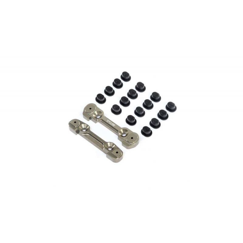 Adjustable Front Hinge Pin Brace w/Inserts: 8X TLR244049 TLR244049 Team Losi Racing RSRC