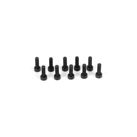 Button Head Screws, M3 x 10mm (10) TLR5932