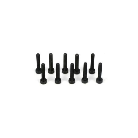 Cap Head Screws, M3 x 16mm (10) TLR5934