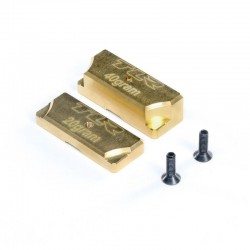 TLR341010 Brass Ballast: 8X TLR341010 Team Losi Racing RSRC