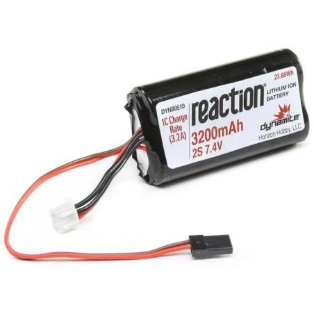 Pack réception 7.4V 3200mAh 2S Li-ion: 8X DYNB0510