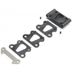 Front Pivot, w/Brace & Kick Shims: All 22 TLR234109