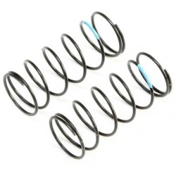 Sky Blue Front Springs, Low Frequency, 12mm (2) TLR233052