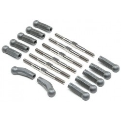 HD Turnbuckle Kit, Titanium: 22 5.0 TLR334052