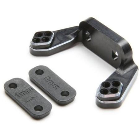 Support de carrossage arrière aluminum noir TLR334051