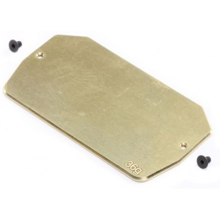 Brass Electronics Mounting Plate, 34g: 22 5.0 TLR331039