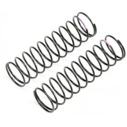 Pink Rear Springs, Low Frequency, 12mm (2) TLR233058
