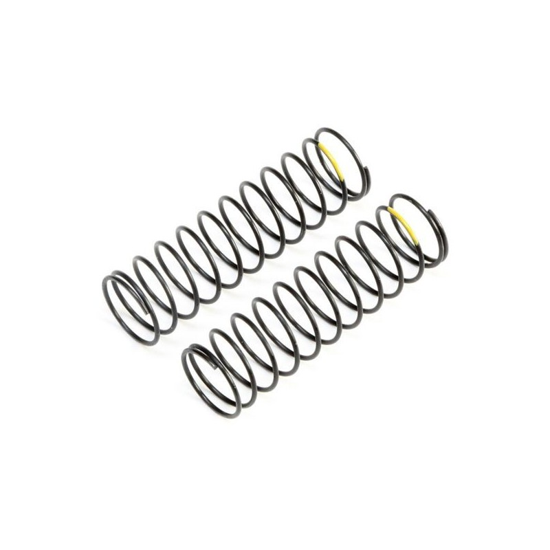 TLR233057 Yellow Rear Springs, Low Frequency, 12mm (2) TLR233057 Team Losi Racing RSRC