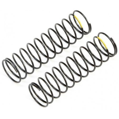 Yellow Rear Springs, Low Frequency, 12mm (2) TLR233057