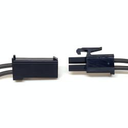 RX connectors FINO DARK RIDER (1 male + 1 female)