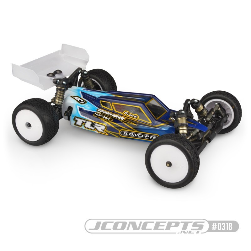 JCONCEPTS S2 - TLR 22 5.0 body w/ Aero S-Type wing 0318
