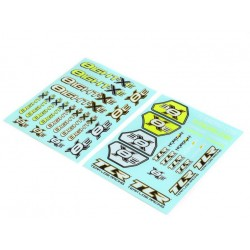 TLR249005 Planche de décorations 8XE TLR249005 Team Losi Racing RSRC