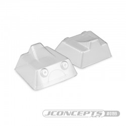 JQ BLACK AND GREY EDITION FRONT SCOOP - 2PC. 0199  RSRC