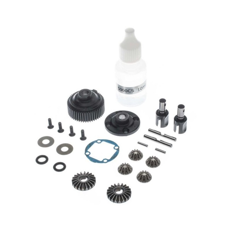 Complete G2 Gear Diff, Metal: 22 TLR232101