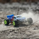 Losi Mini-T 2.0 2WD Stadium Truck RTR 1/18, Blue/White