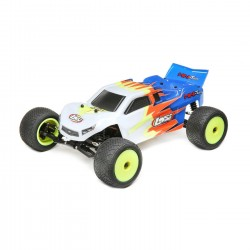 Losi Mini-T 2.0 2WD Stadium Truck RTR 1/18, Blue/White
